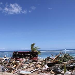 Rebuilding Utualii, WestSamoa